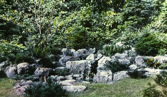 The Rock Garden at Reeves-Reed Arboretum