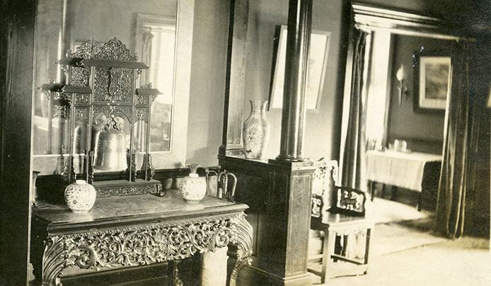 A room in historic Wisner House