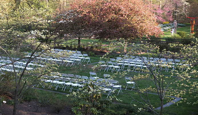 Host an event at Reeves-Reed Arboretum in Summit, NJ