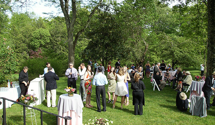 Corporate event at Reeves-Reed Arboretum