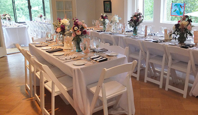 Host your private party at Reeves-Reed Arboretum