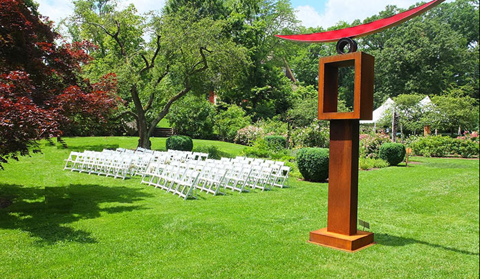Have your wedding at Reeves-Reed Arboretum