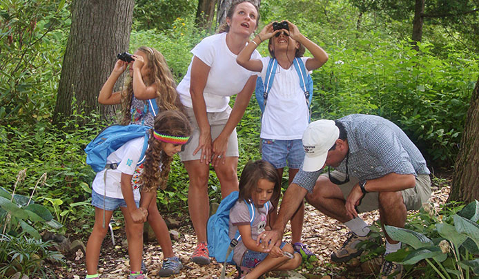 Programs for families at Reeves-Reed Arboretum